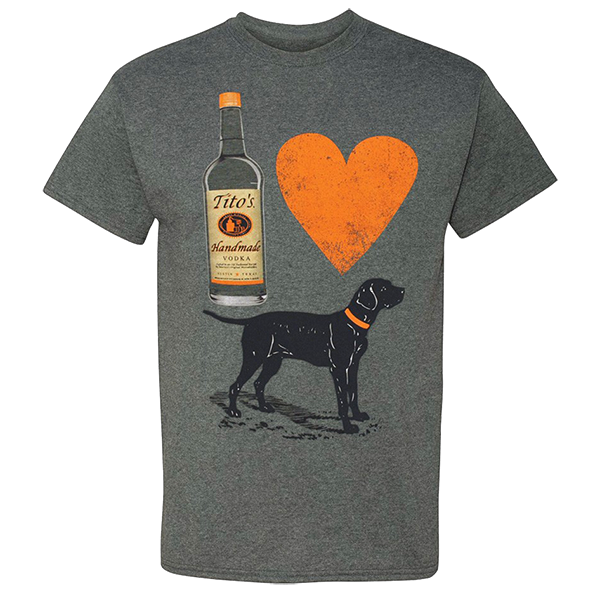 Vodka for Dog People Shirt