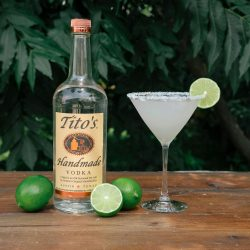 Tito's Vodka TitoRita cocktail, a twist on a margarita