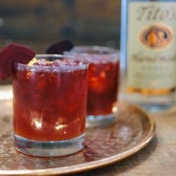 Tito's Vodka Beet and Ginger Ale Cocktail Recipe