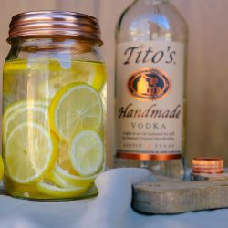 Tito's Vodka Lemon Infused Vodka