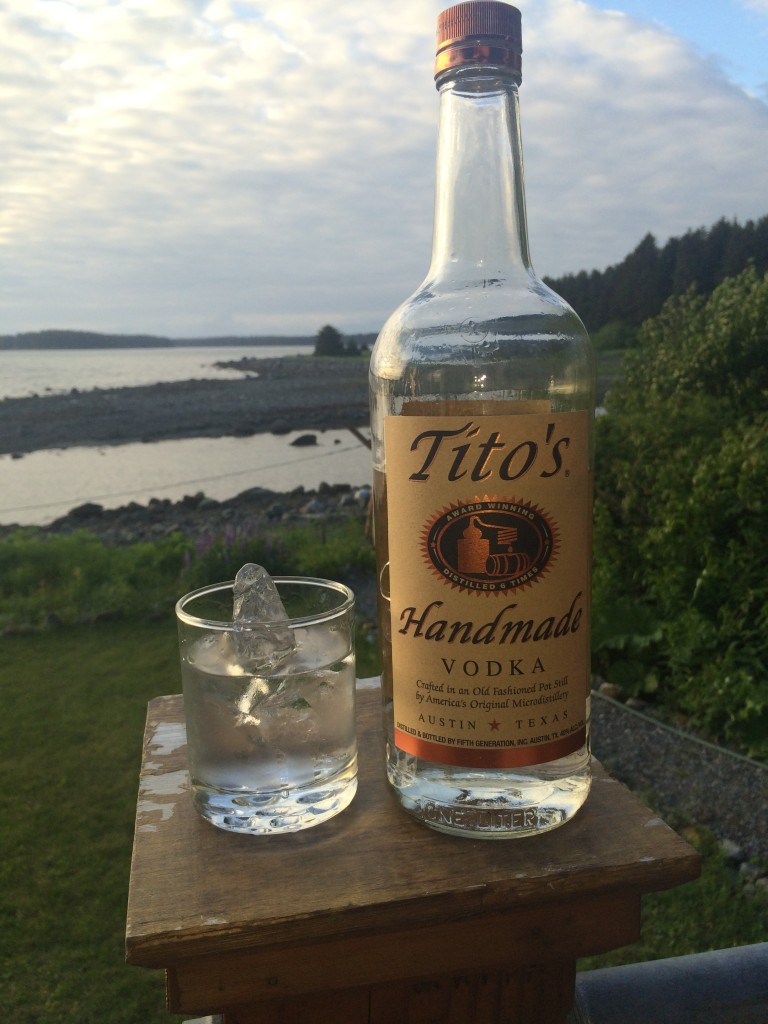 A Story About Tito's Handmade Vodka Over Glacial Ice in Alaska