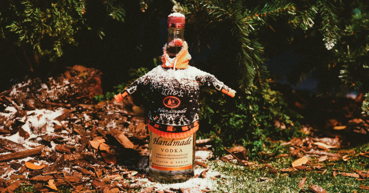 Toast To The Holidays With Tito's