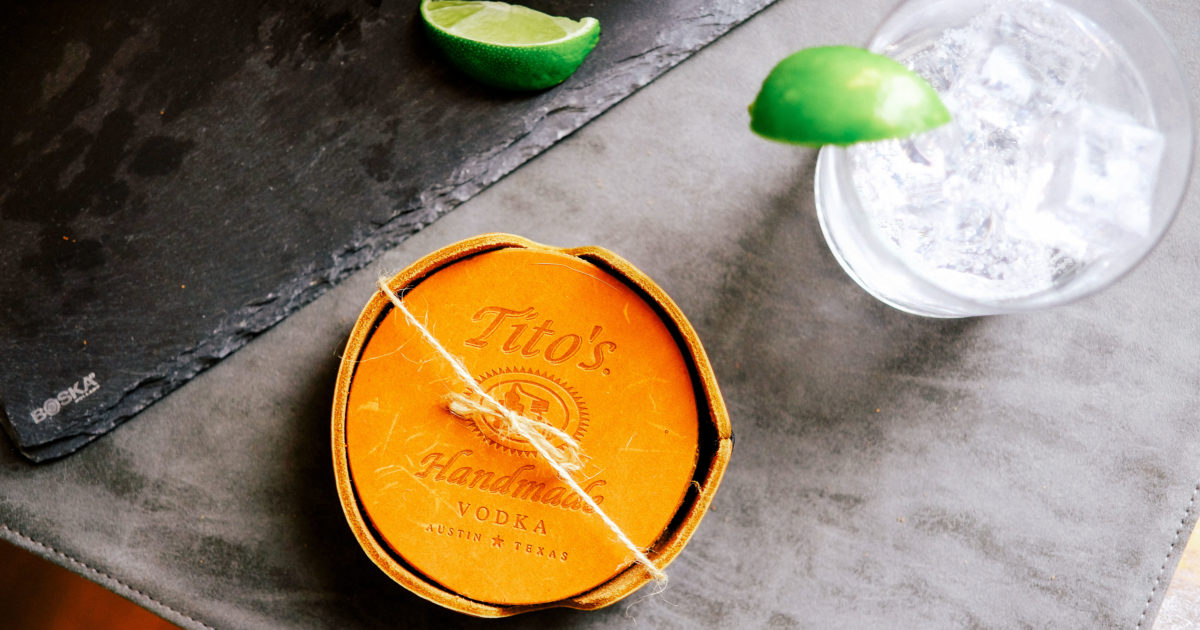 Check Out And Give Back With Tito's