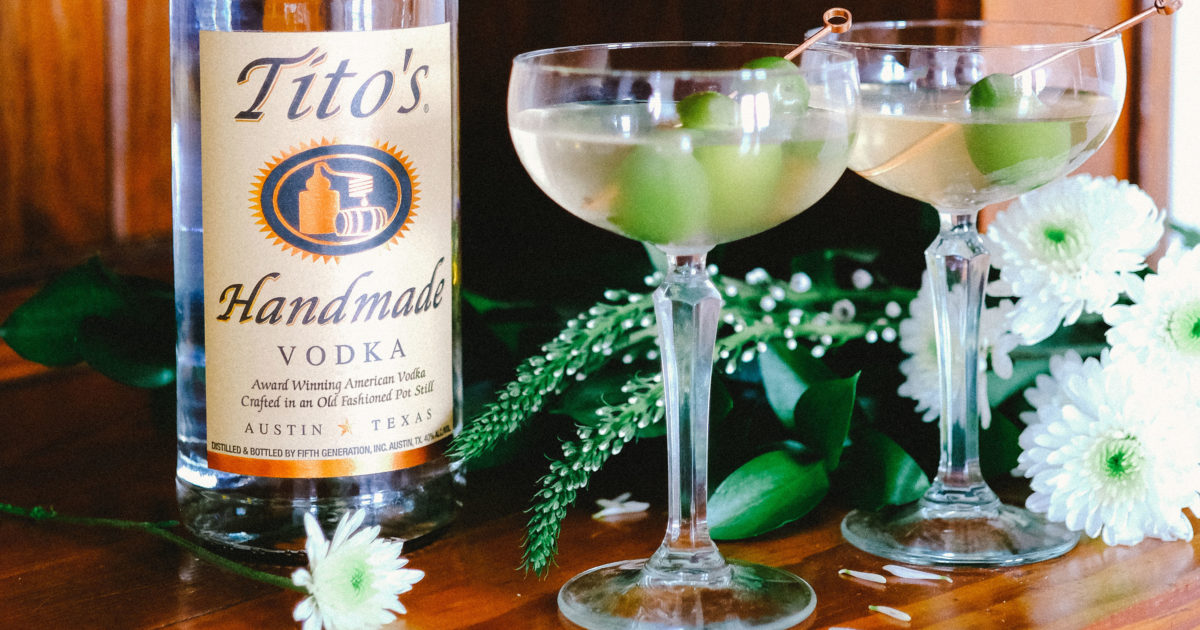 Nothing Says Love like a Tito's Toast