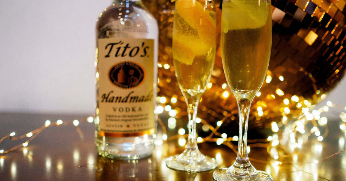 Cheers To The New Year With Tito's!