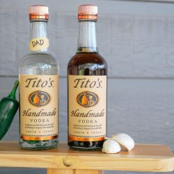 Black Pepper & Garlic Infused Tito's Vodka