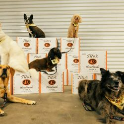 Titos Vodka Cowoofers In Warehouse