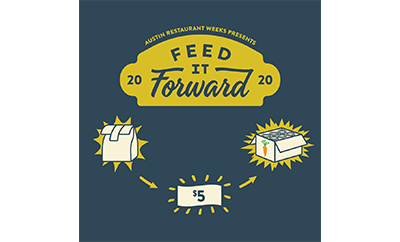 Austin restaurant weeks feed it forward logo