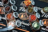 Tito's Vodka Austin City Limits bloody mary bar