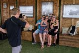 tito's vodka photo opportunity at Austin Food and Wine