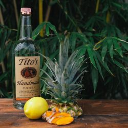 Tito's Vodka Turmeric Infusion Ingredients