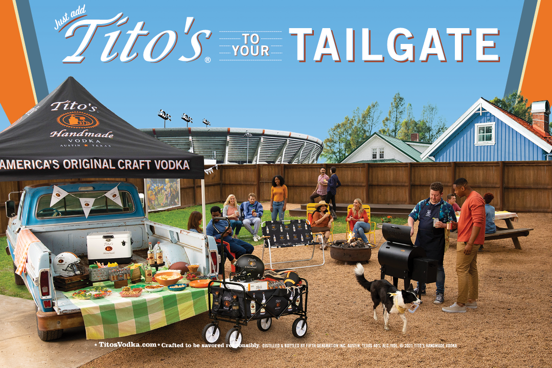 Tito's To Your Tailgate Sweepstakes